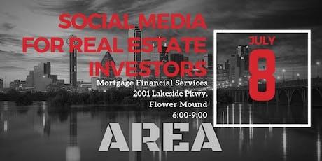 Social Media For Real Estate Investors tickets