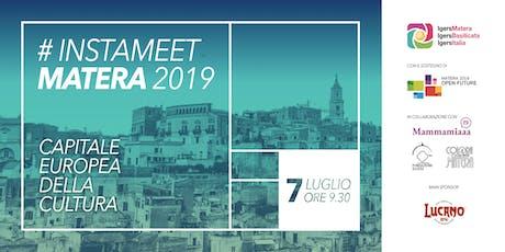 #InstameetMatera2019  biglietti