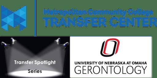 Transfer Spotlight Series - Gerontology