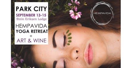 PARK CITY HEMPAVIDA PRODUCT LAUNCH YOGA RETREAT + Art & WINE tickets