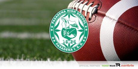 Pasadena vs Summer Creek Varsity Football tickets