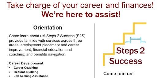 Steps 2 Success Jacksonville's Financial Opportunity Center Orientation