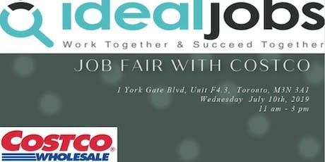Costco Job Fair tickets