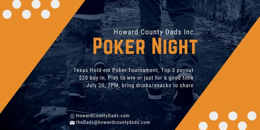 Dads Only Poker Night