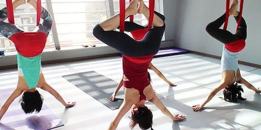 July Dates Aerial Yoga