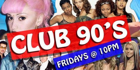 Club 90's presents tickets