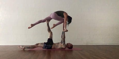 Acro Vinyasa Workshop: Level 1 - Prone Sequence tickets