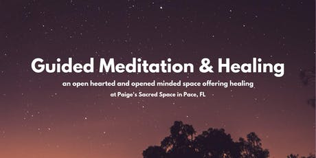 Guided Meditation + Healing tickets