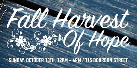 Fall Harvest of Hope tickets