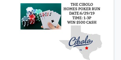 CIBOLO HOMES POKER RUN