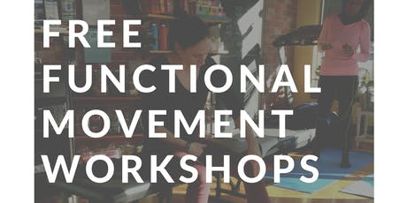 August 6th   Functional Movement Workshop tickets