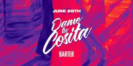 Dame Tu Cosita presents Chato & Wasabi tickets