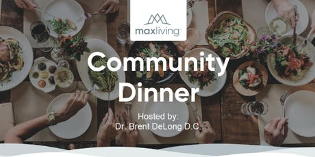 Community Dinner with the Doctor tickets
