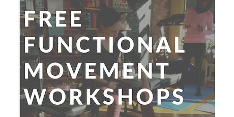 August 21   Functional Movement Workshop tickets