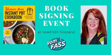 Book Signing:  The Gluten Free Instant Pot Cookbook tickets