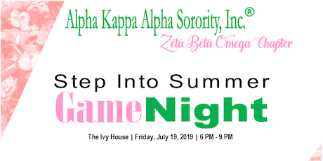 Step Into Summer Game Night tickets