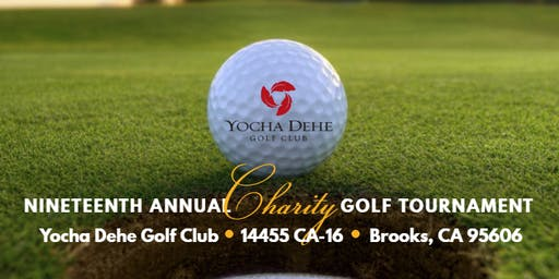 Nineteenth Annual Charity Golf Tournament