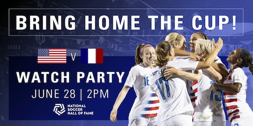 FREE FIFA Women's World Cup France 2019™ Watch Party (USA vs France)