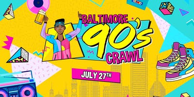 Baltimore 90's Crawl 2019 (Fells Point)
