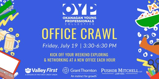 Young Professional Office Crawl