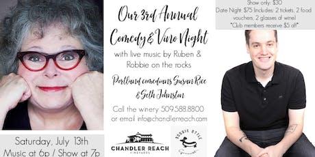 Comedy & Vino Night tickets