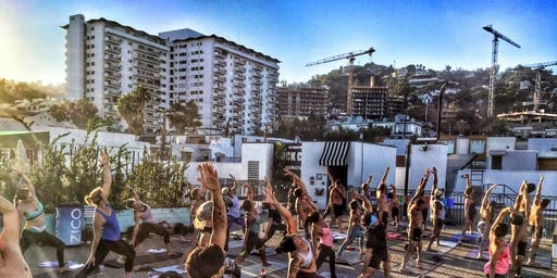 ROOFTOP YOGA - SUMMER SUNSETS - FINAL WEEKS OF THE SEASON