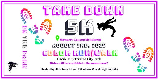 Take Down 5K Color Run