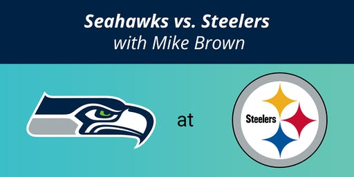 Seahawks @ Steelers hosted by Seattle's Mike Brown