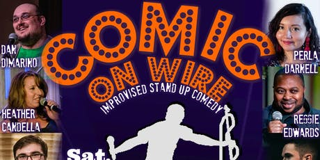 Comic on Wire! tickets
