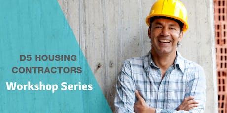 D5 Small Business Contractor Breakfast Workshop tickets