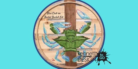 Crab Bushel Basket Lid - Paint & Sip tickets