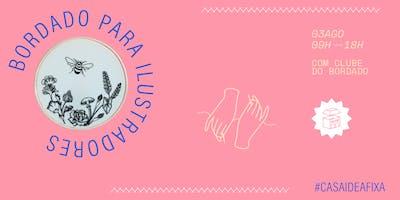 Clube do Bordado: Bordado para ilustradorxs