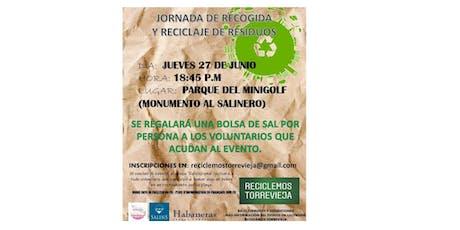 9° Jornada de Recogida y Reciclaje de Residuos entradas