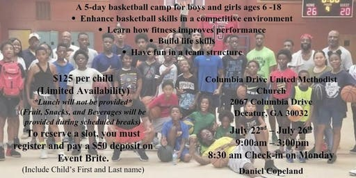 #StayTrue Youth Basketball Camp ($125)