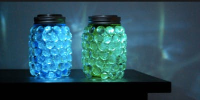Craft Afternoon- Mason Jar Luminaries