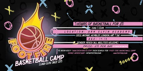 Foot Fire Basketball Camp tickets