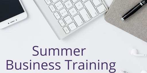 Summer Business Training
