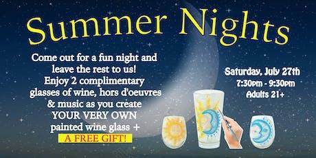 """SUMMER NIGHTS"" -  SIP & PAINT tickets"