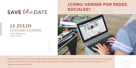 ¿Cómo Vender Por Redes Sociales? entradas