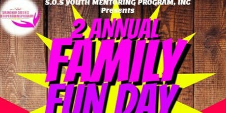 "S.O.S Youth Mentoring Program,Inc ""Saving Our Sister's"" *DEPRESSION/SUICIDE AWARENESS*(FAMILY FUN DAY) tickets"