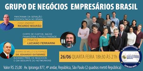 26-06 Convite- Grupo de negócios- Empresários Brasil   ingressos