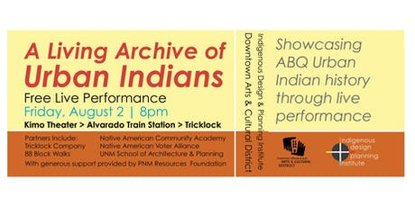 A Living Archive of Urban Indians tickets