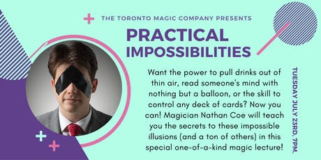 Practical Impossibilities: A Magic Lecture with Nathan Coe Marsh tickets