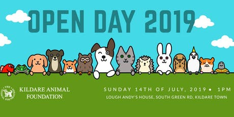 Annual Open Day tickets
