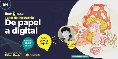Taller de Ilustración: De Papel a Digital tickets