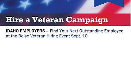 Hire a Veteran Campaign 2019 tickets