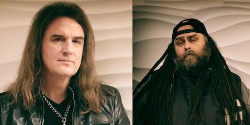 MEGADETH Bassist David Ellefson & Thom Hazaert