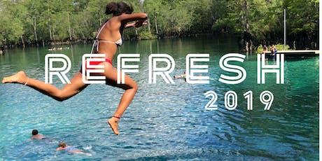 REFRESH 2019 tickets