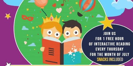SUMMER READING SERIES with College+Nannies+Sitters+Tutors tickets