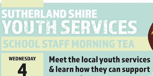 Sutherland Shire Youth Services School Staff Morning Tea